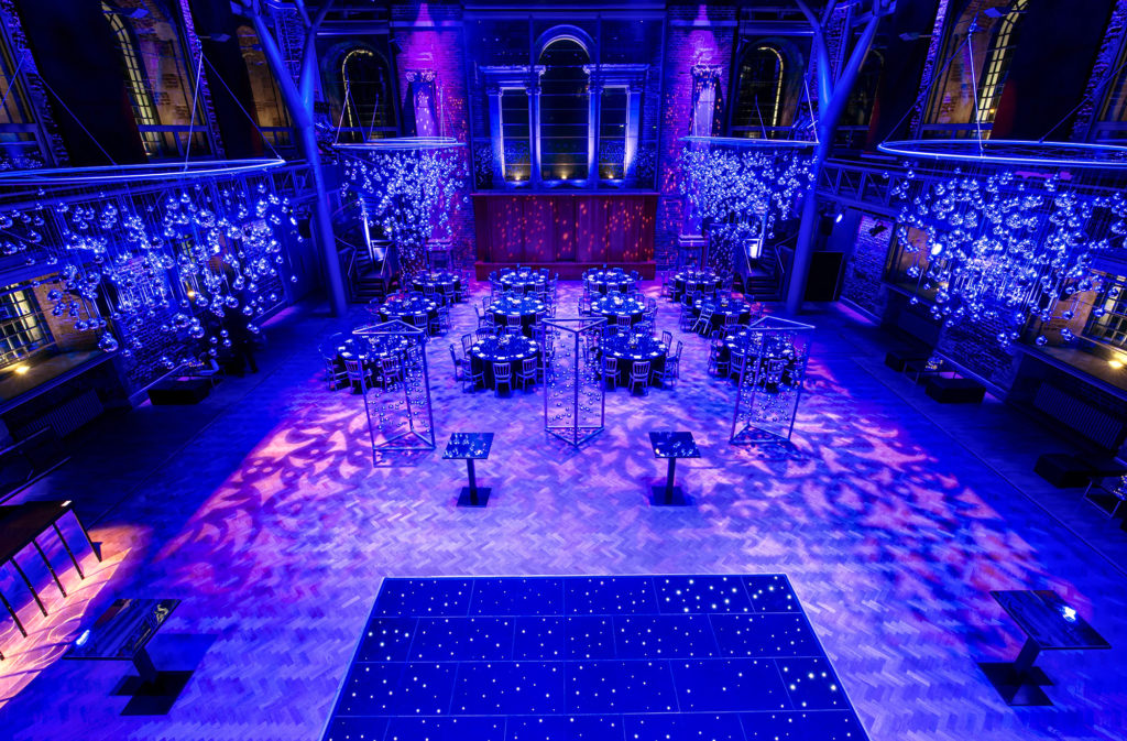 Stunning Christmas party venue london