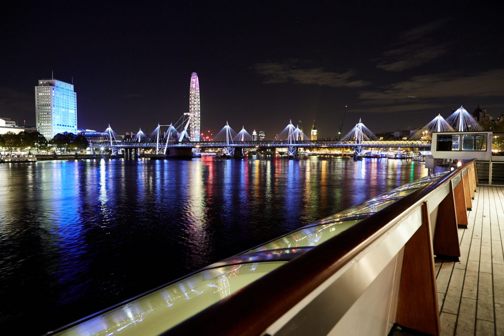 Christmas party on the water venue london