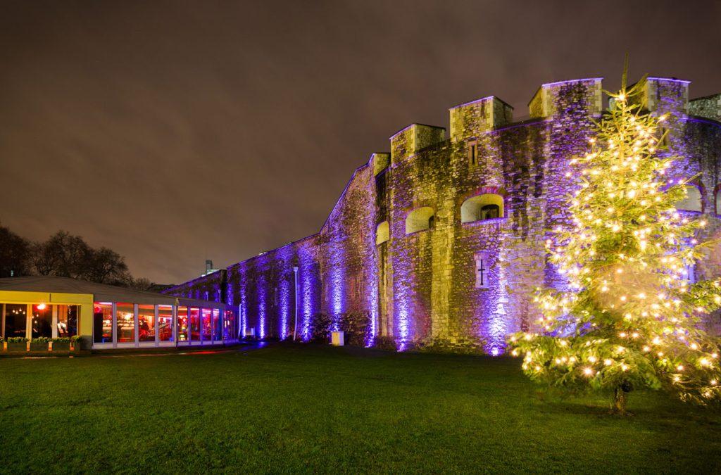 Christmas party historic venue london