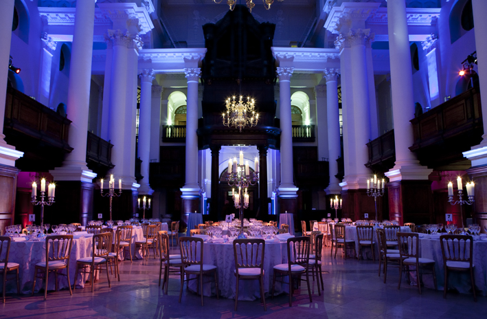 Classic Christmas party venue london