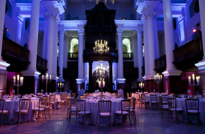 Classic Christmas party venue london