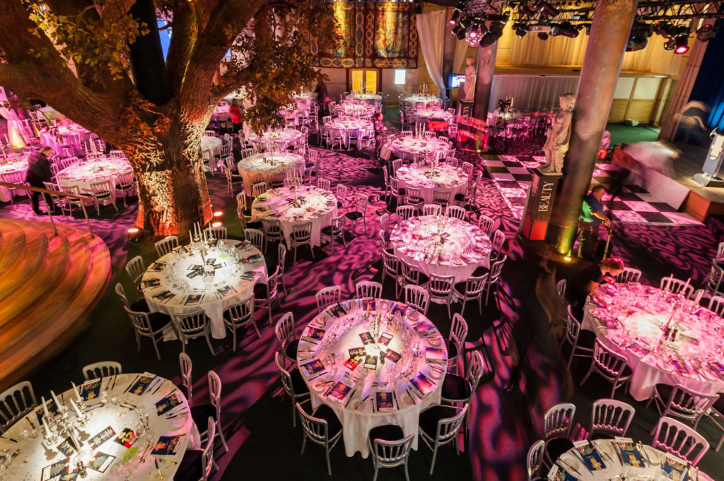 Banquet Christmas party venue london