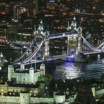 tower bridge london venue at night
