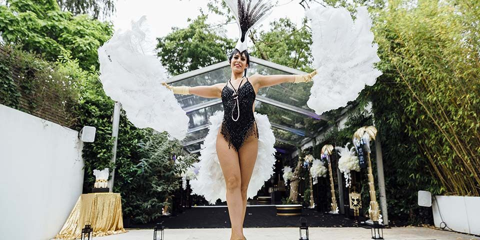 Great Gatsby marquee party