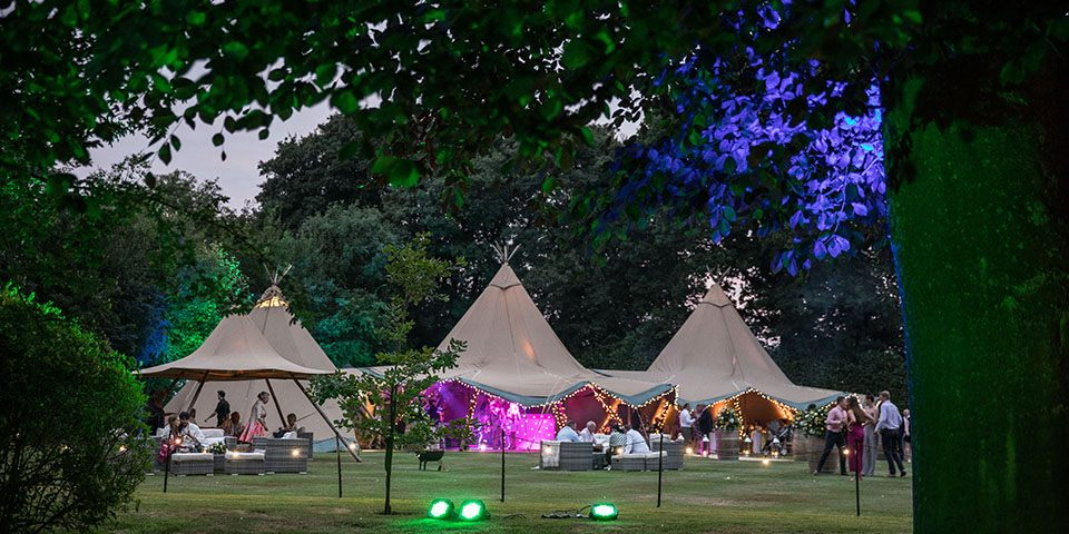50th wedding anniversary tipis
