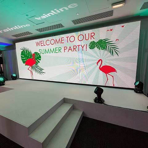 A company Summer party to end all summer parties!