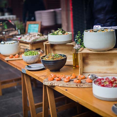 Incorporating clever catering in your corporate event