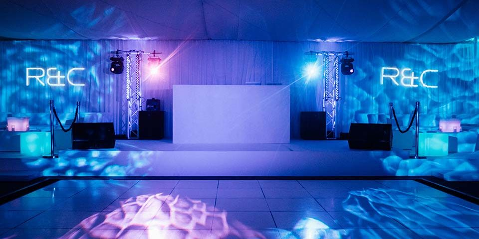 nightclub marquee party