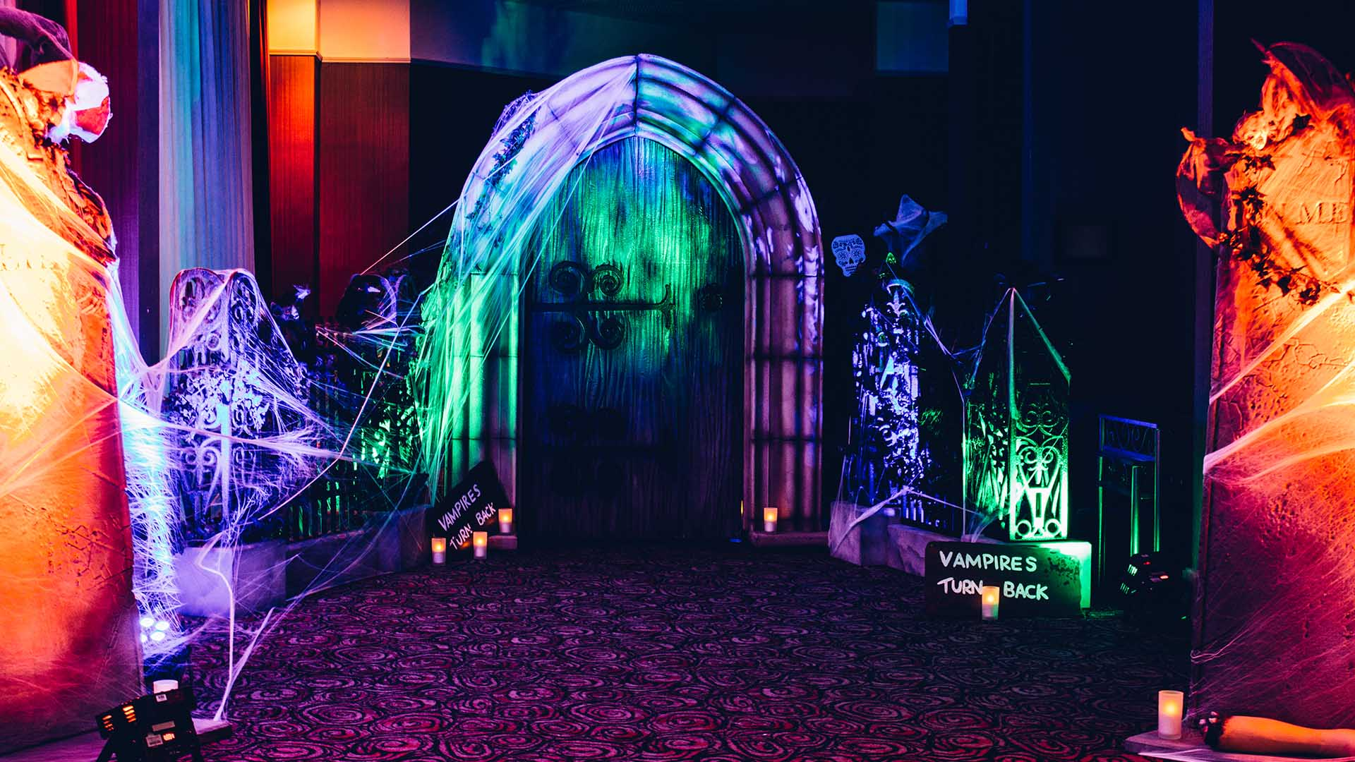 Spook Tacular Halloween Corporate Party Based In Reading