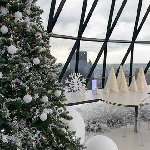 8 incredible Christmas party venues in London