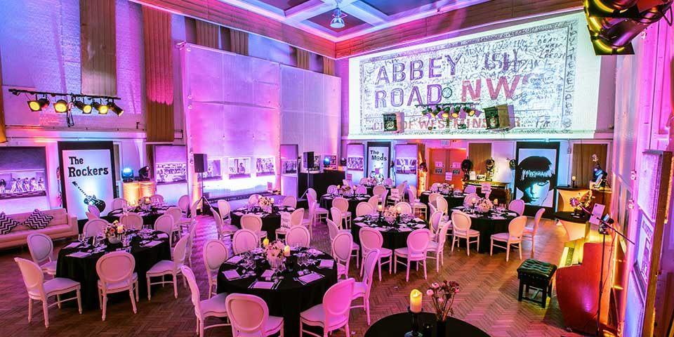 Abbey Road Studios 70th Birthday Party - Unusual party venues