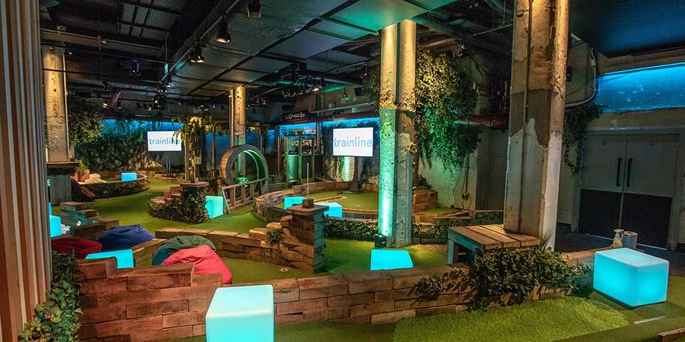 Corporate Event at Swingers Crazy Golf London
