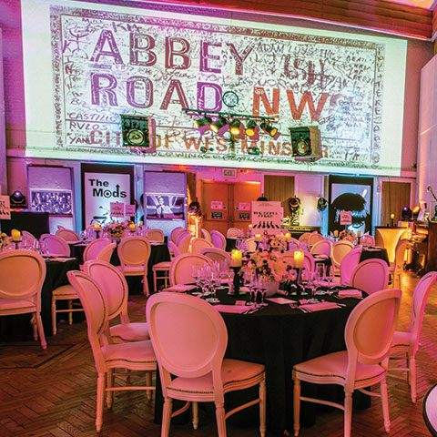 An unusual party venue in London – Abbey Road Studios