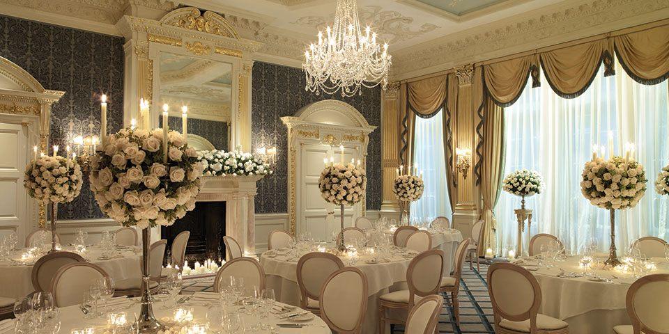 Claridge's Luxury Banquet - Luxury event planning in London