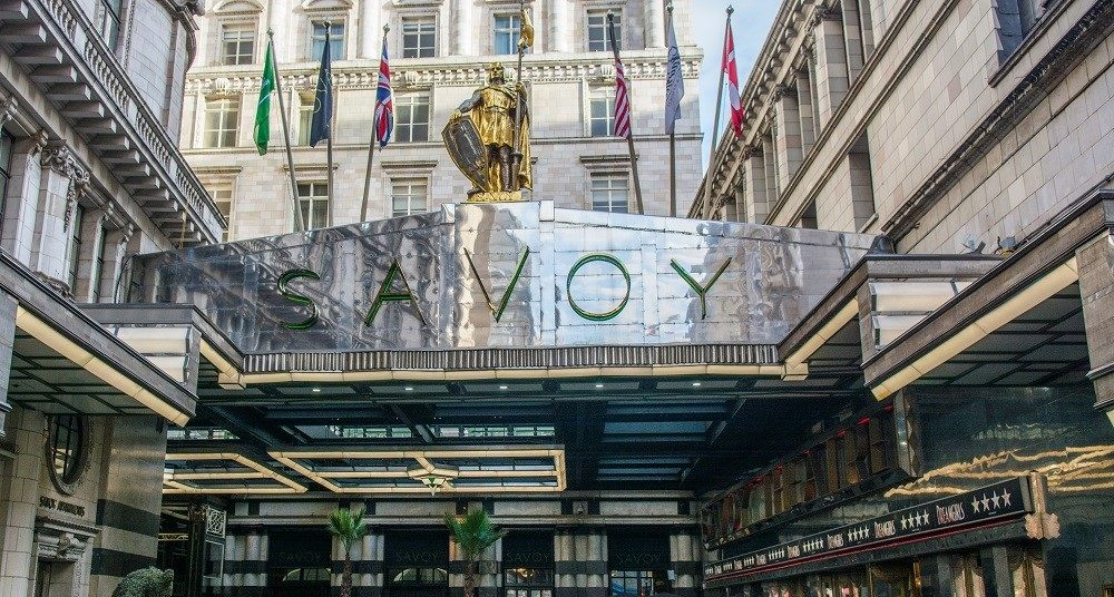 the Savoy. A luxury venue in London.