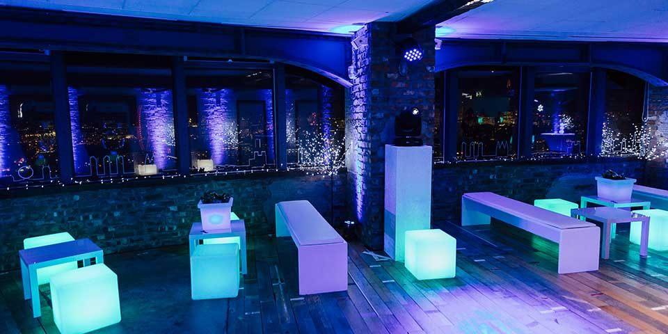 40th Birthday Party Venues in London: Skyloft