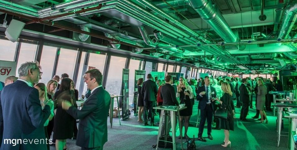 Corporate event venues in London: Landing 42