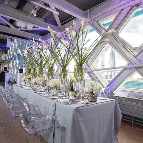 Location, location, location – party venues on The Thames