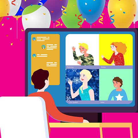 Virtual Parties for Children: Don't let COVID-19 Spoil The Fun!