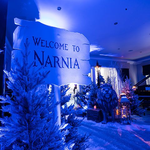 Stepping into Narnia for an incredible Christmas party