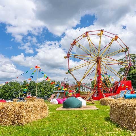Summer festival down on the farm in Crawley